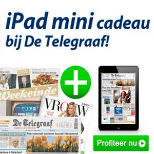 iPad mini cadeau bij Telegraaf